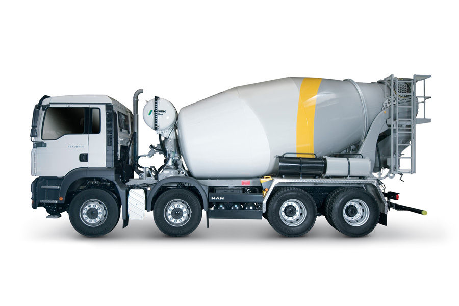 Build Your Own Cement Mixer ~ Concrete trucks mixers and safety tips