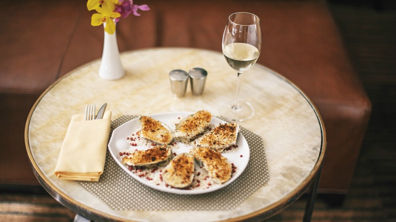 chablis-to-complement-baked-oysters