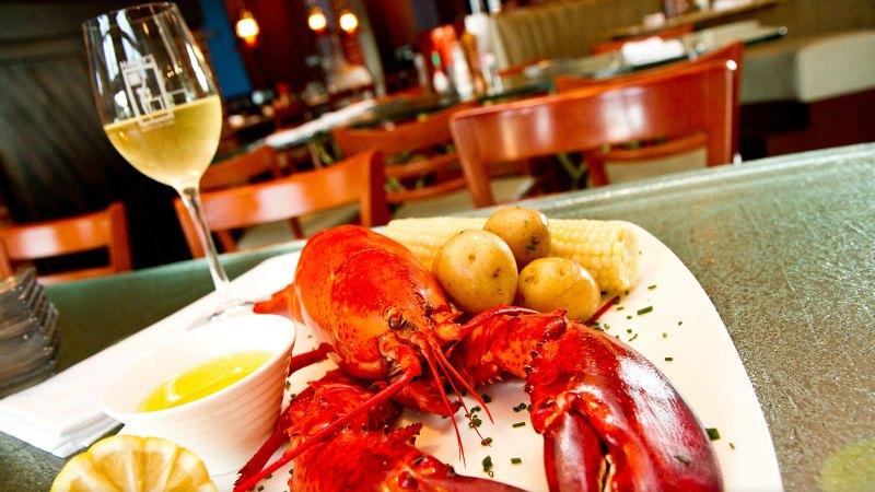 lobster-wine
