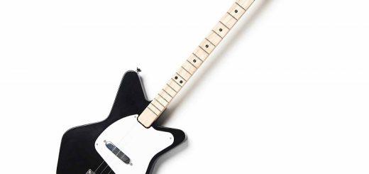 childrens black guitar