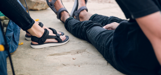 sandals with support for walking