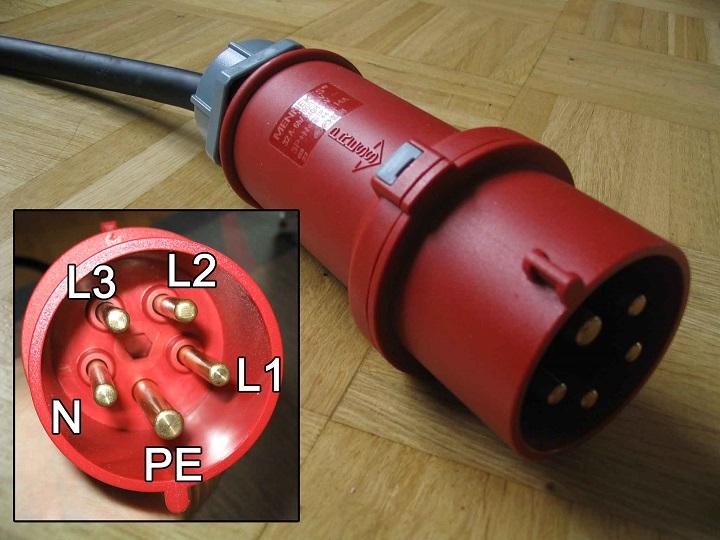 3 phase plug