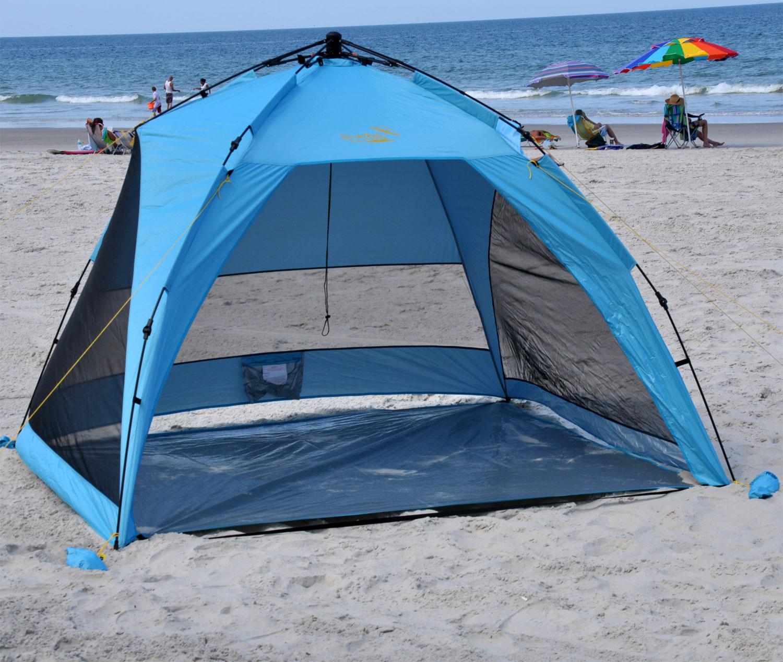 Sun Beach Shelter A Convenient Way To