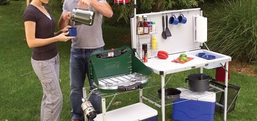 outdoor camping kitchen equipment