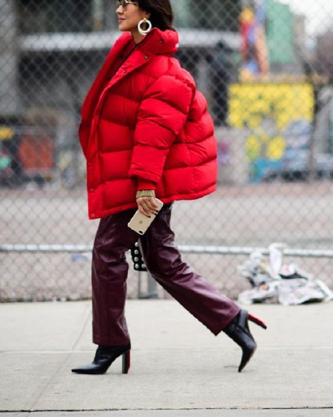 Oversized jackets and coats