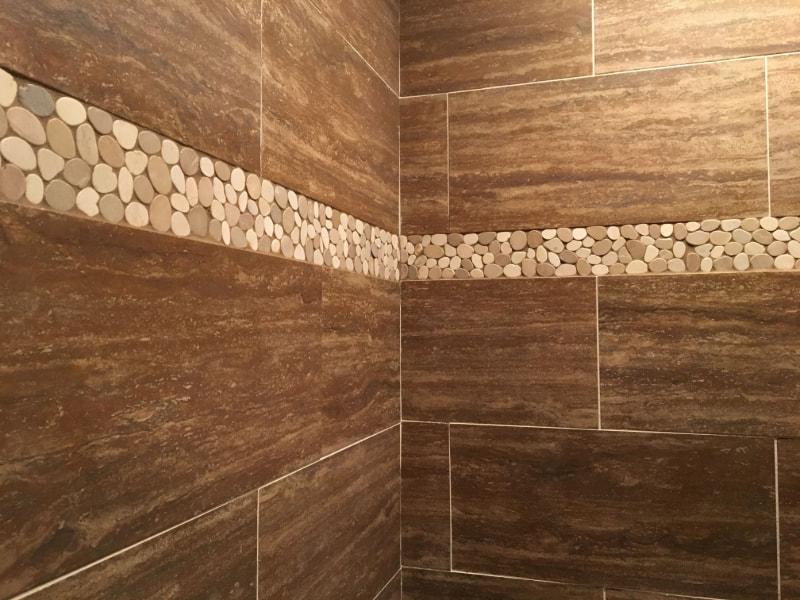 stone border tile